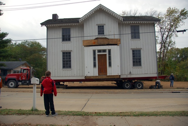 Sappington-Arban house move.