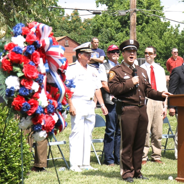 Memorial Day Ceremony by Bill Brinkhorst