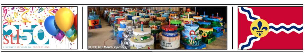 photo bar graphic St Louis birthday