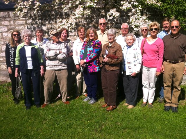SCHS members attending the April 2015 Meet-at-the-Site Tour to Jefferson Barracks Historic Site.