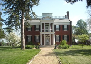 The house built in 1849 by William B. Sappington