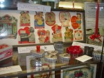 """Valentines Through the Years"" SCHS display at Tesson Ferry Library in February 2015"
