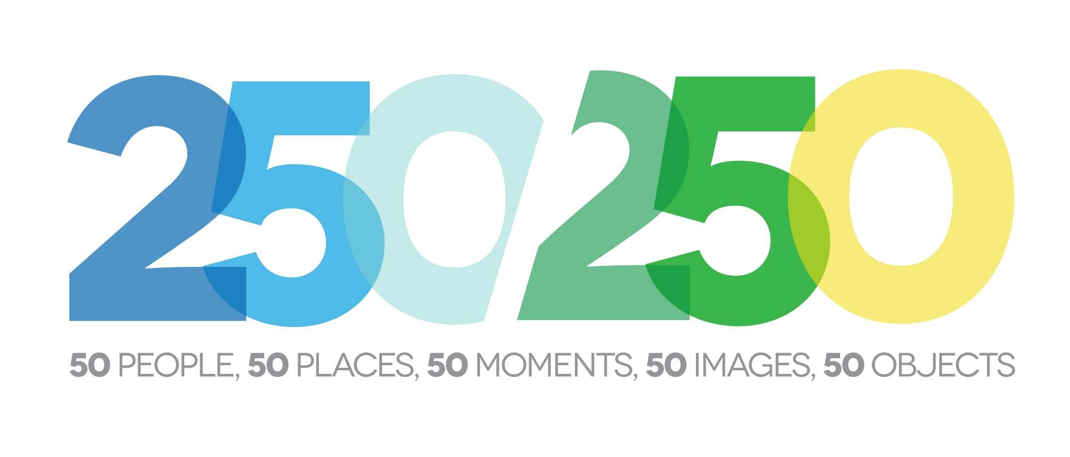 250 in 250 logo
