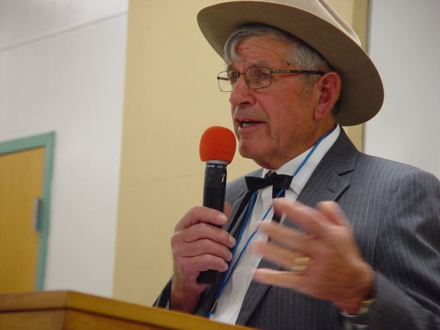 "Lester Lurk on ""The Life and Times of Will Rogers, Wednesday night, Oct. 22,2014 at SCHS."