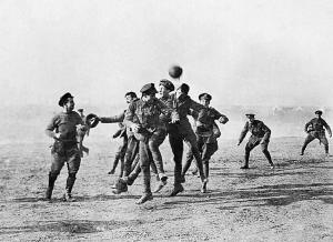 Remembering the 100th anniversary of the WWI Christmas Truce - December 1914 - 2014