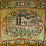 Cathedral Basilica of St. Louis ( The New Cathedral ) mosaic of St Louis history