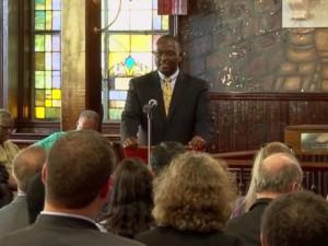 Clementa C Pinckney - senior pastor of Emanuel AME church in Charleston, South Carolina, victim of the deadly shootings, June 17, 2015.