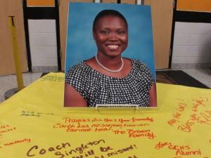 Sharonda Coleman Singleton, victim of the deadly shootings, June 17, 2015 at Emanuel AME Church in Charleston, South Carolina.