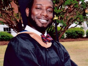 Tywanza Sanders, victim of the deadly shootings, June 17, 2015 at Emanuel AME Church in Charleston, South Carolina.