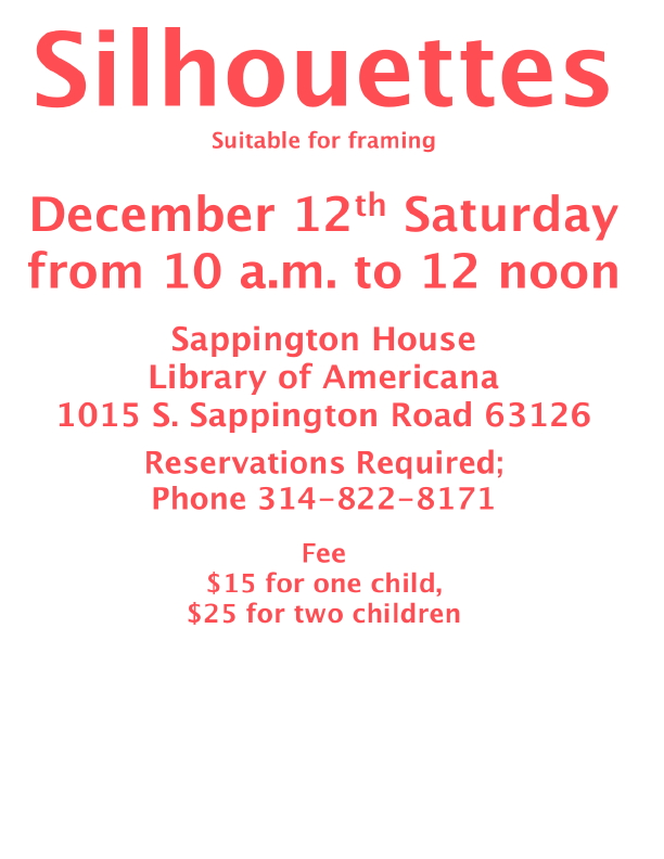 December 12th Saturday from 10 a.m. to 12 noon