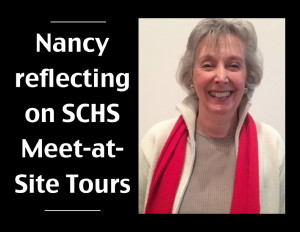 Nancy Nowotny, SCHS Member in Action