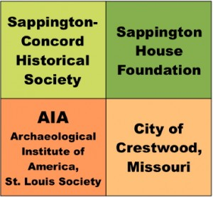 Sponsors of the Dig at Sappington House, June 1-11.