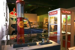 "Missouri History Museum exhibit ""Route 66: Main Street Through St. Louis."""