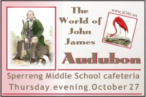 Audubon, Thursday Oct 27, Sperreng Middle School