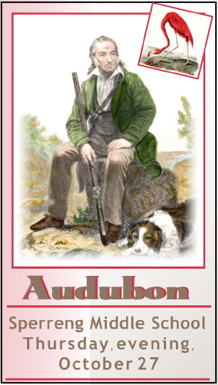 """""""James Audubon and the Birds of America"""" by Tom Reh of the Mercantile Library"""