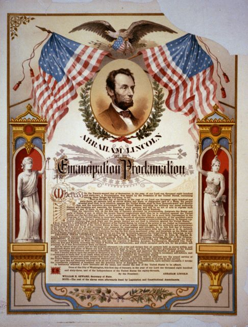 One copy of the Emancipation Proclamation in the Library of Congress