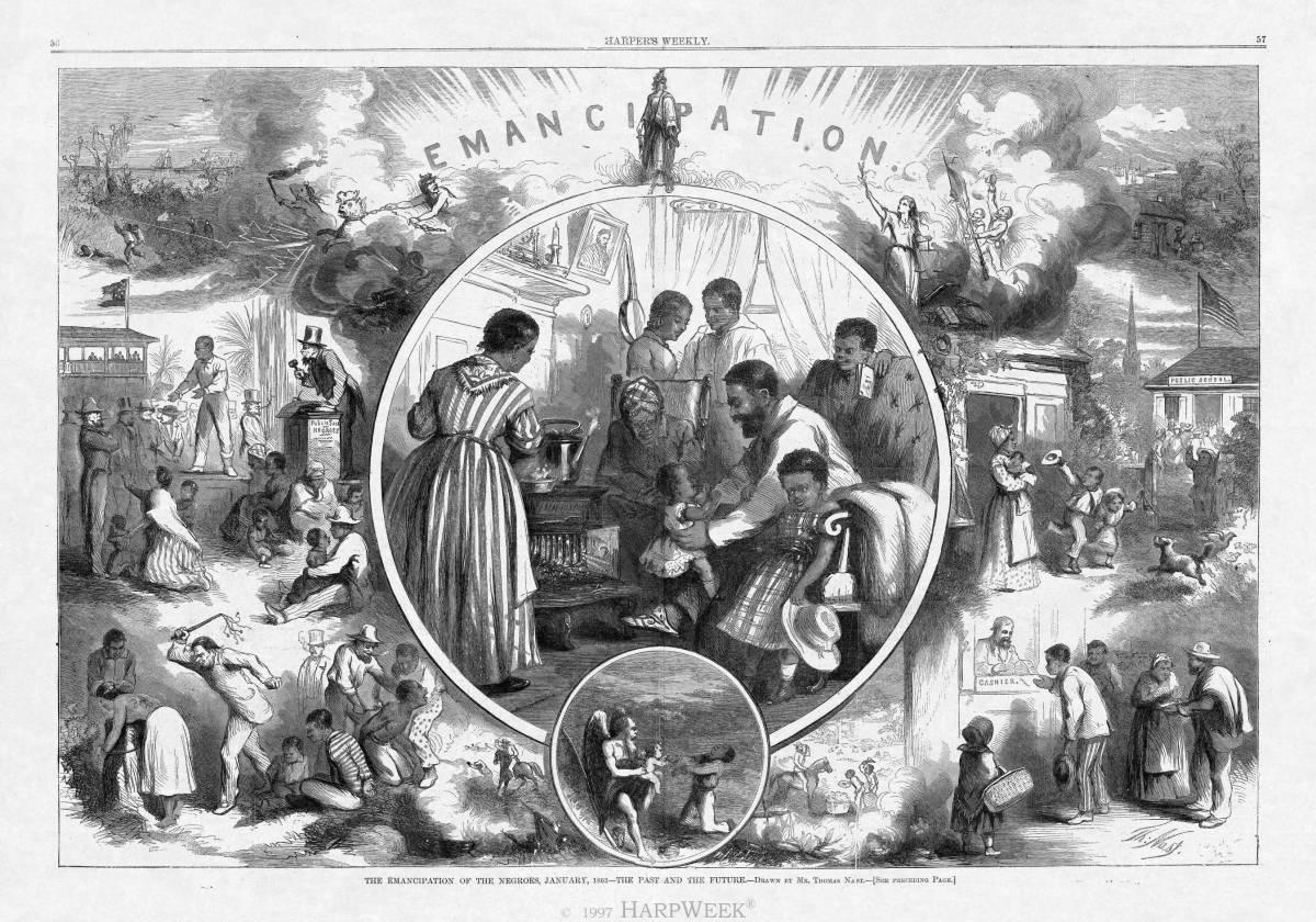 """Slave Emancipation Celebration"" http://yanceyfamilygenealogy.org/binah_yancey.htm"