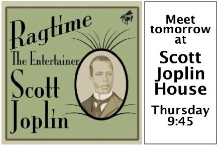 "Scott Joplin's ""The Entertainer."" from: http://cioc8-1.weebly.com/scott-joplin.html"