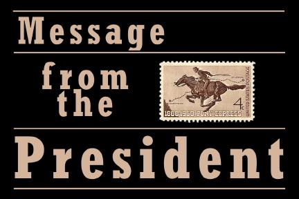 SCHS president's message