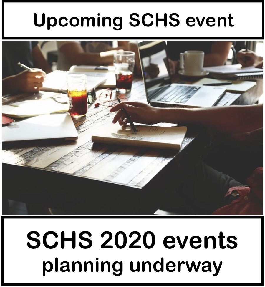 SCHS 2020 event planning underway
