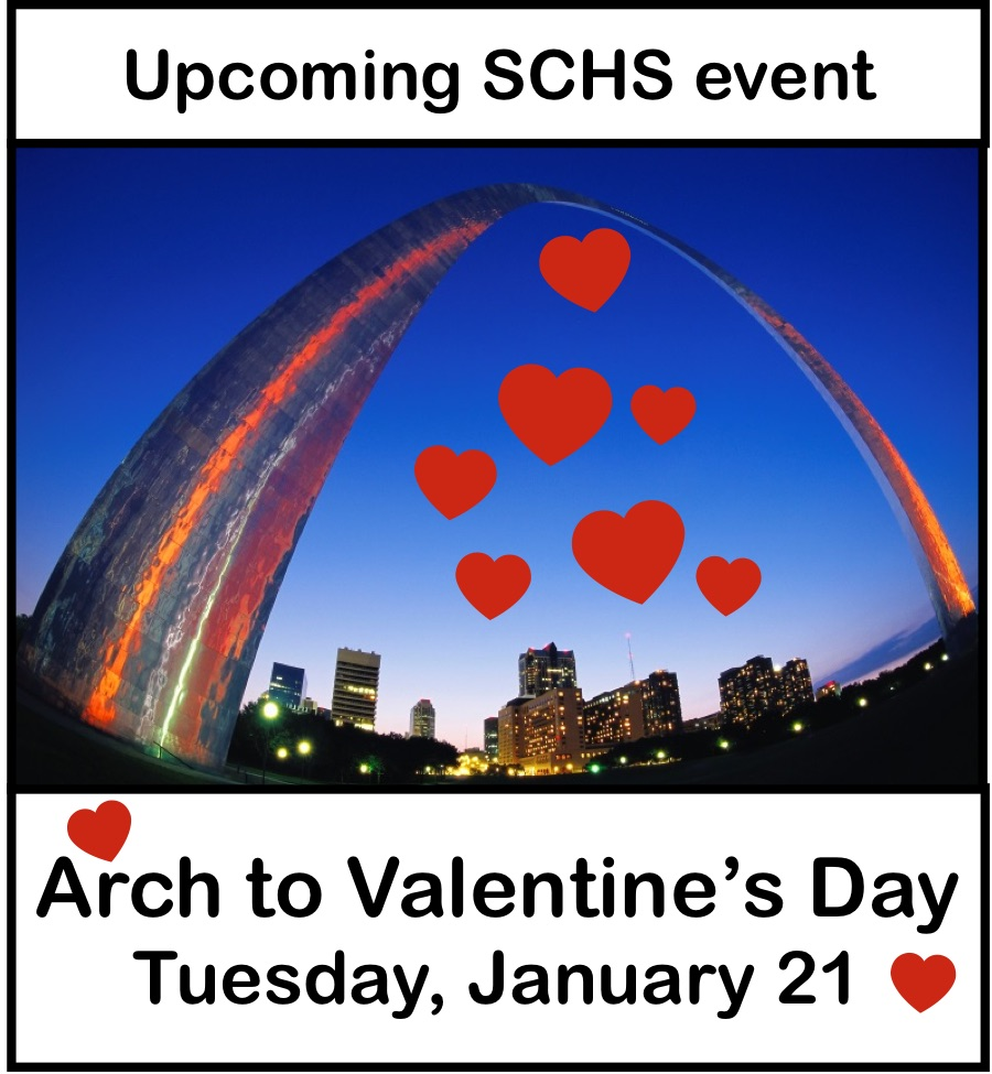 "St. Louis Lore, From the Arch to Valentine's Day"" presented by Dr. John Oldani"