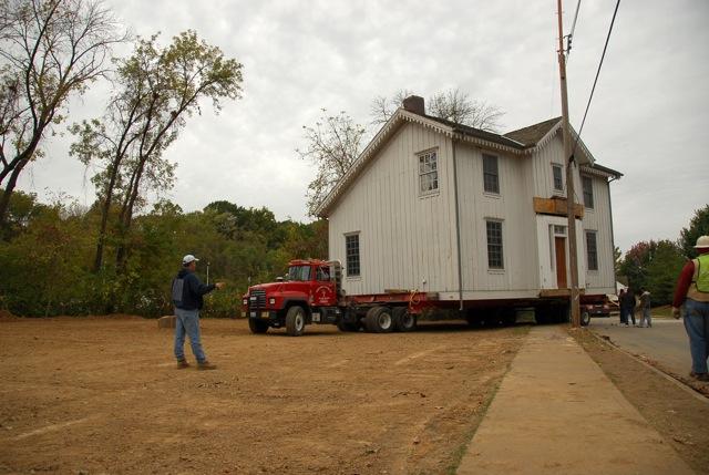 Sappington-Arban house move.
