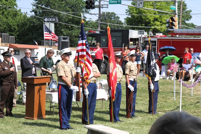 Memorial Day Ceremony by Bill Brinkhorst