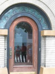 Front entrance of the Dana-Thomas House